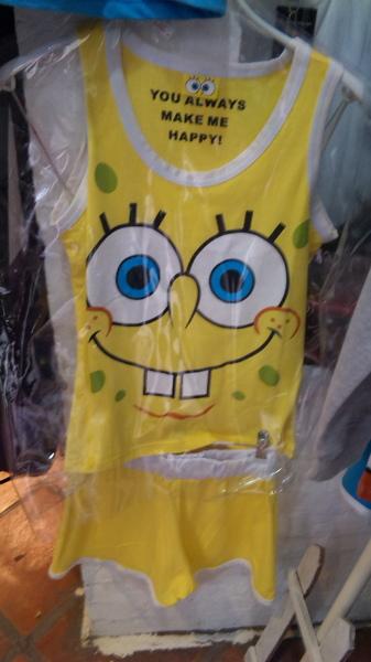 店裡的一整套衣服