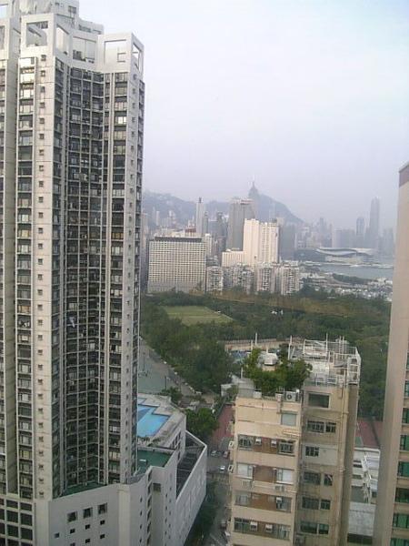 從HOTEL看出去的景觀