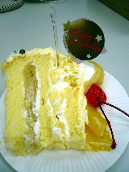 我吃的那一塊蛋糕