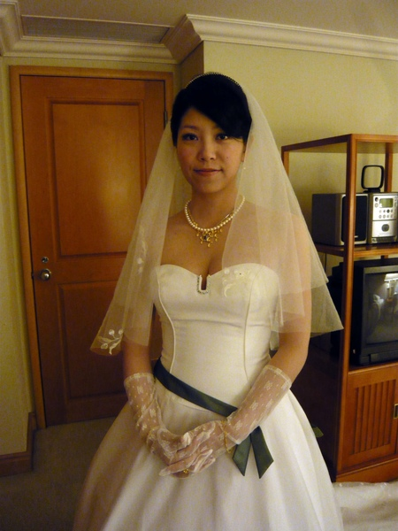 幸福滿滿的新嫁娘