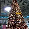 桃園機場100年燈飾