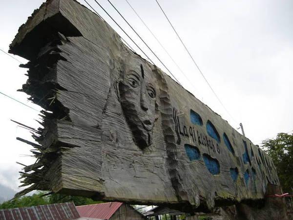 部落裡的木雕 3