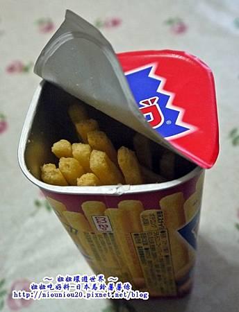 MORINAGA 裝滿滿薯條