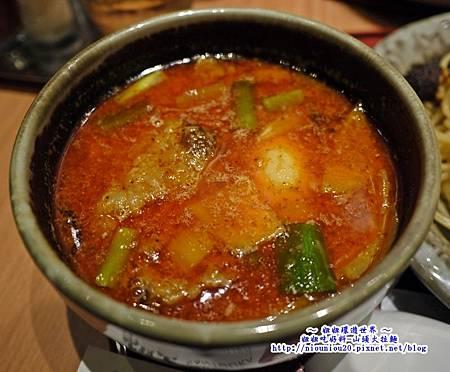 山頭火拉麵_10辣味噌沾麵2
