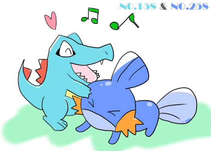 小鋸鱷&水躍魚
