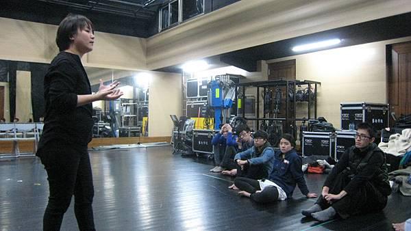 20140221文化大學戲劇系(四年級) 主題課:表演真實感:如何穿越鏡頭與劇場表演的真實感與自然~表演練習與實務經驗分享
