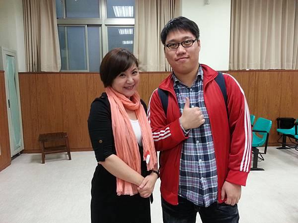 蔡心彤老師NISHA中台科技大學魅力口語大進擊20140402 (8)