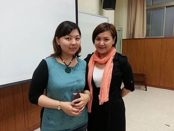 蔡心彤老師NISHA中台科技大學魅力口語大進擊20140402 (5)