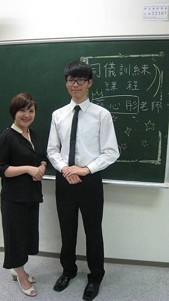 心彤老師帶領東海親善服務團司儀訓練20140507 (31)