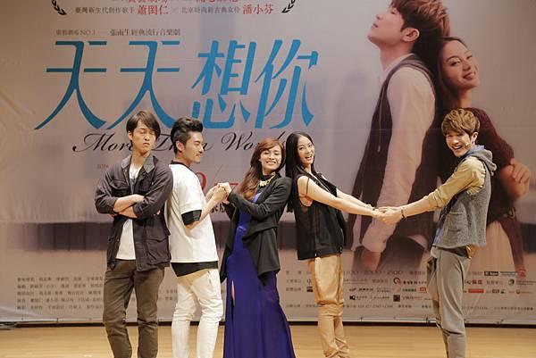 張雨生經典流行音樂劇《天天想你》 彩排記者 (4)