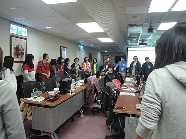 心彤老師帶領林口長庚大專志工隊「團隊向心力與凝聚力課程」 (7)