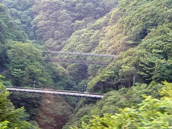 早川橋梁(山の鉄橋)