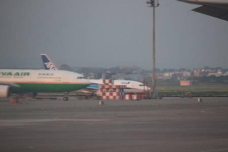 エバー航空と全日本空輸