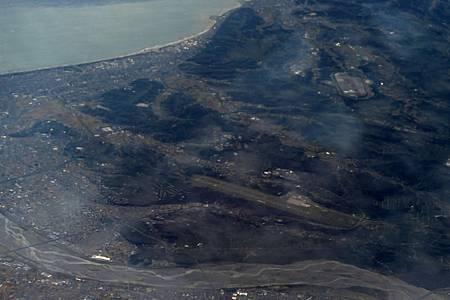 大井川と静岡空港