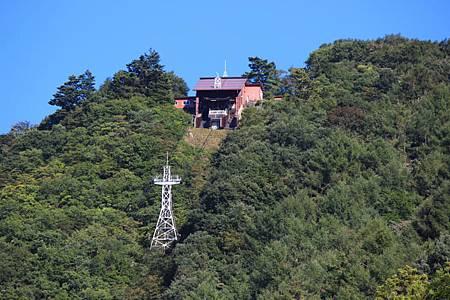 カチカチ山ロープウェイ富士見台駅