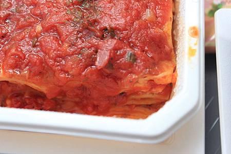 海の幸のラザニア ハーブトマトソース