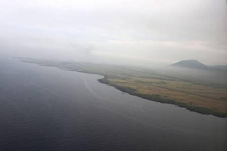 利尻空港&ポン山