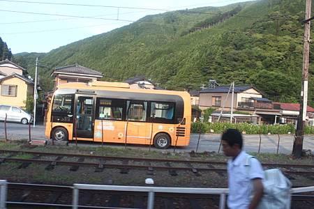 川根本町営バスせせらぎ号PONCHO