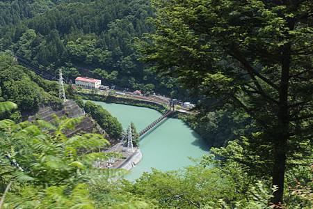 大井川ダムとアプトいちしろ駅