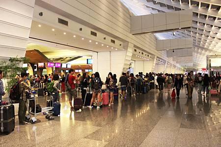 台北桃園空港第一ターミナル