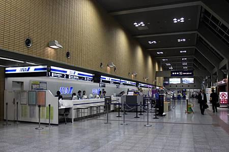 全日本空輸チェックインカウンター