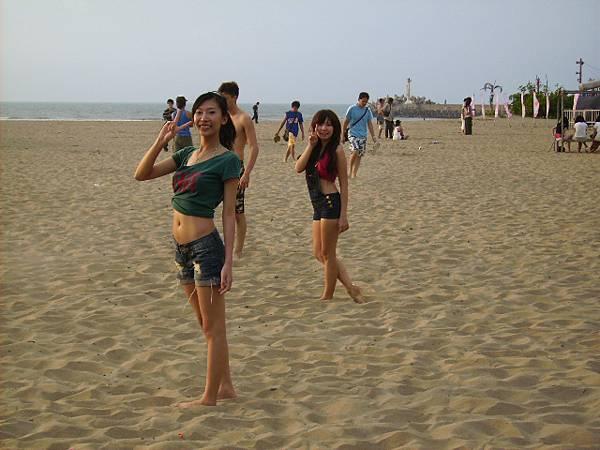 第2天的沙灘排球~