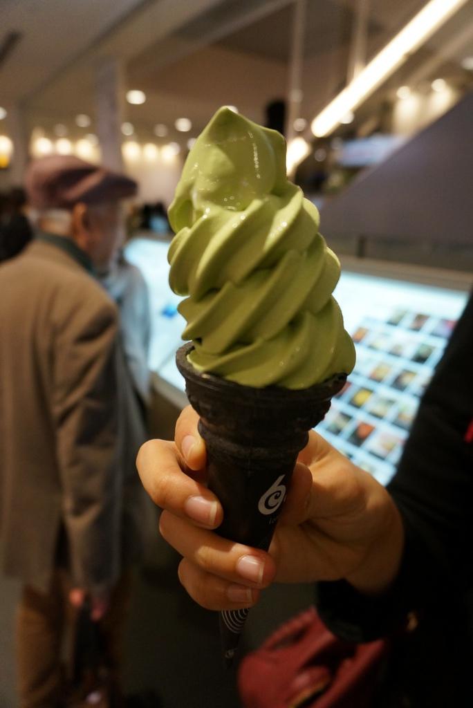 東毛酪農 63°C-抹茶冰淇淋