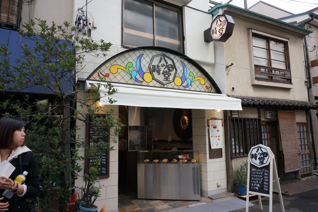 淺草寺-雷門炒麵麵包店面