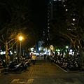 雙城街夜市全景照