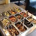 韓江-韓式烤肉-小菜水果