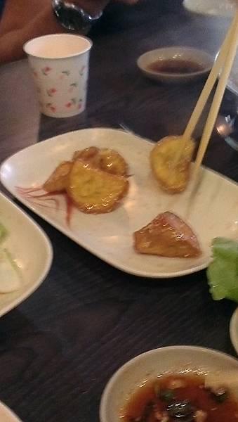 韓江-韓式烤肉-吃地瓜拔絲