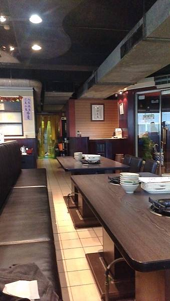 韓江-韓式烤肉-環境