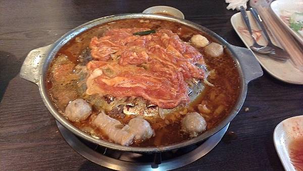 韓江-韓式烤肉-煮辣豬五花