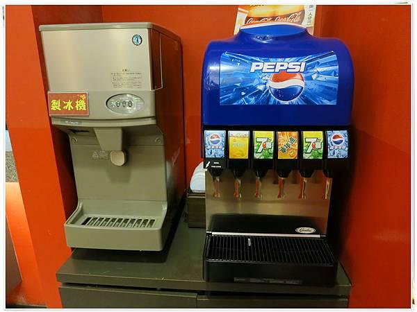 福勝亭-飲料機、冰塊