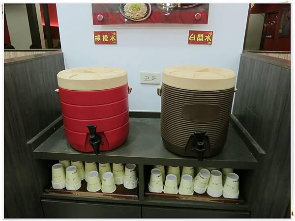 福勝亭-白開水、杯子