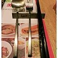 台北-HOT 7-王品集團平價鐵板燒-餐具