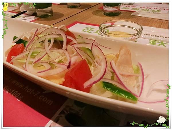 台北-HOT 7-王品集團平價鐵板燒-和風鮮蔬沙拉