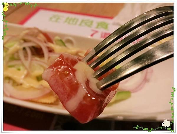 台北-HOT 7-王品集團平價鐵板燒-和風鮮蔬沙拉蕃茄