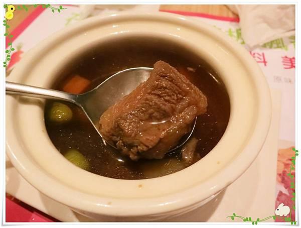 台北-HOT 7-王品集團平價鐵板燒-和風牛筋清湯