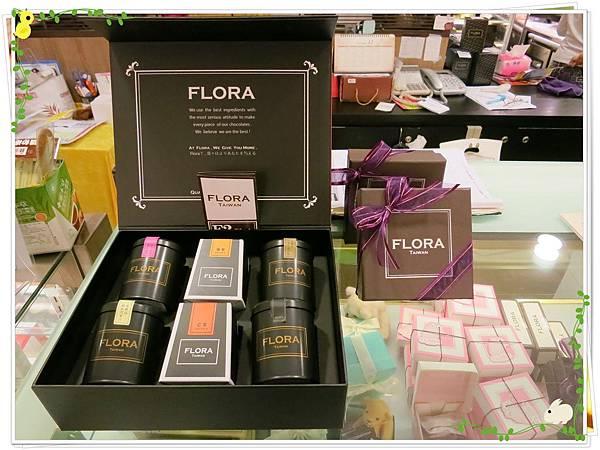 Flora-生巧塔-店面裝飾