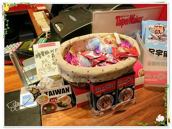 日式拉麵-豚王(凪 nagi)-櫃台-糖果