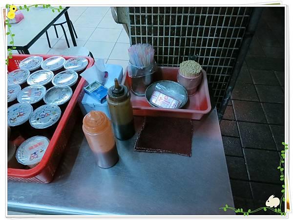 【銅板小吃】三重無名5元小籠包水煎包-醬料