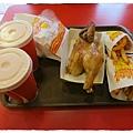 六星級烤雞-四星級的美味-烤雞薯條飲料