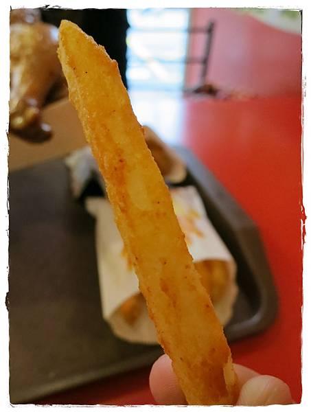 六星級烤雞-四星級的美味-薯條