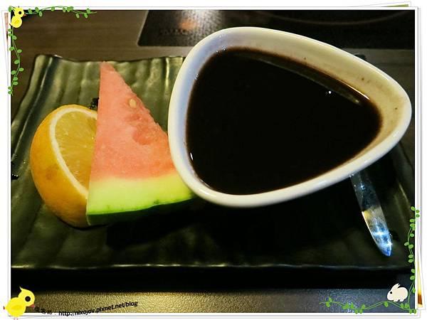 台北-食藝日式料理&涮涮鍋-甜點、水果