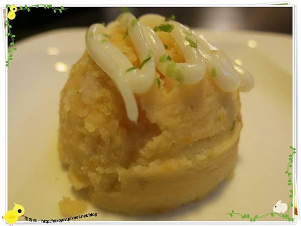 台北-食藝日式料理&涮涮鍋-前菜、馬鈴薯沙拉