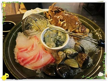 台北-食藝日式料理&涮涮鍋-海鮮盤