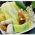 台北-食藝日式料理&涮涮鍋-蔬菜盤