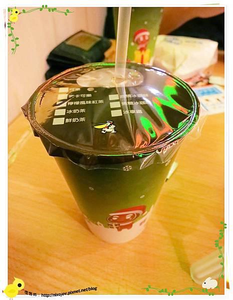 高雄-不像速食店的速食店-丹丹漢堡-紅茶