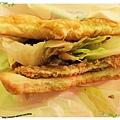 高雄-不像速食店的速食店-丹丹漢堡-照燒豬排堡